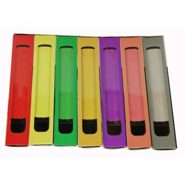 5% Nicotine Electronic Cigarette Puff Brand Bottom Adjustable Airflow Puff Flow Disposable